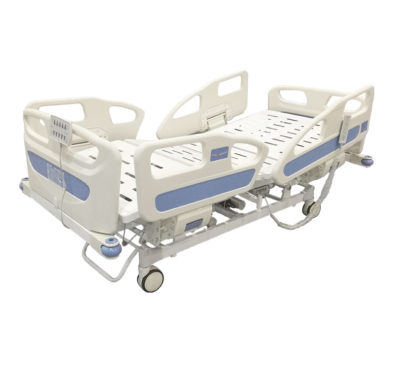 YA-D5-5 Hospital Electric Adjustable Bed With ABS Sleeping Platform