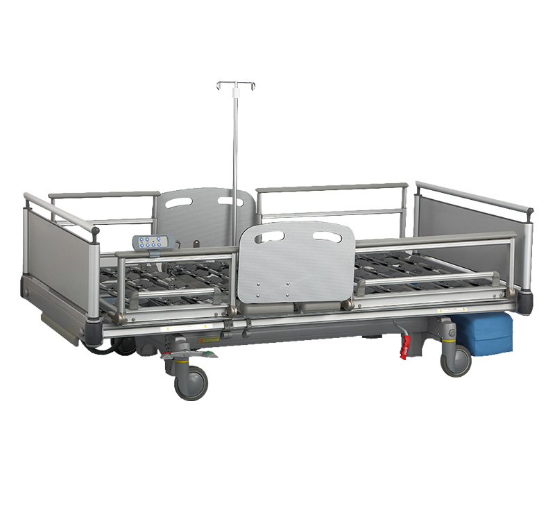 YA-DH8-1 Aluminum Frame Electric Nursing Home Bed