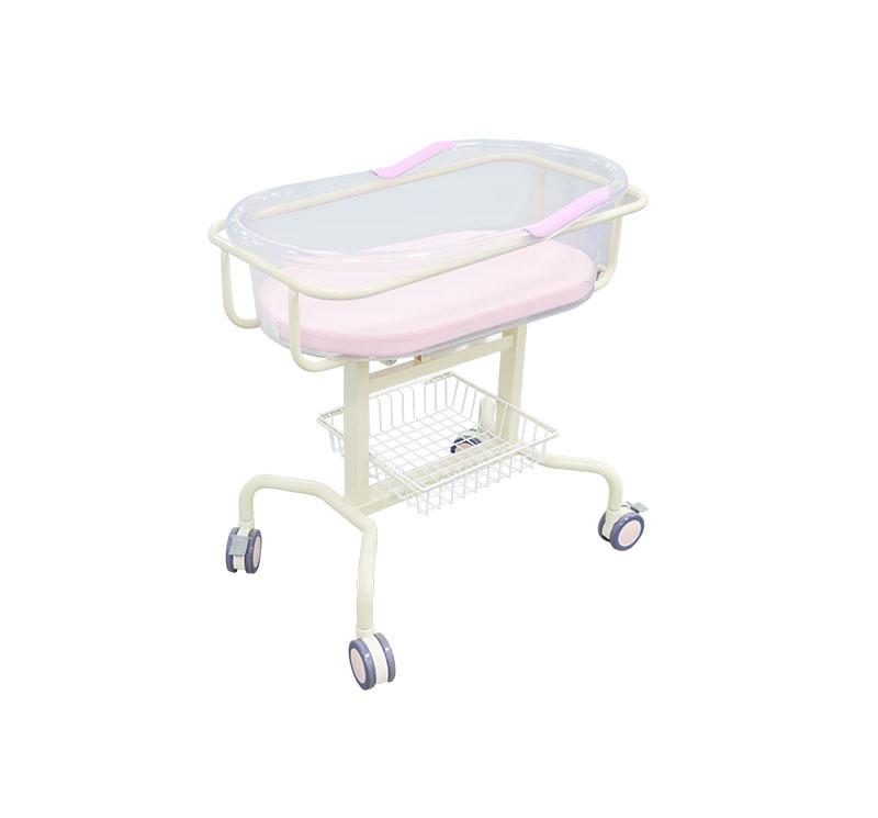 MK-B03 Hospital Baby Bassinet With Storage Unit