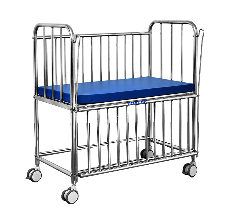 YA-BC4 Medical Infant Bed Stainless Steel