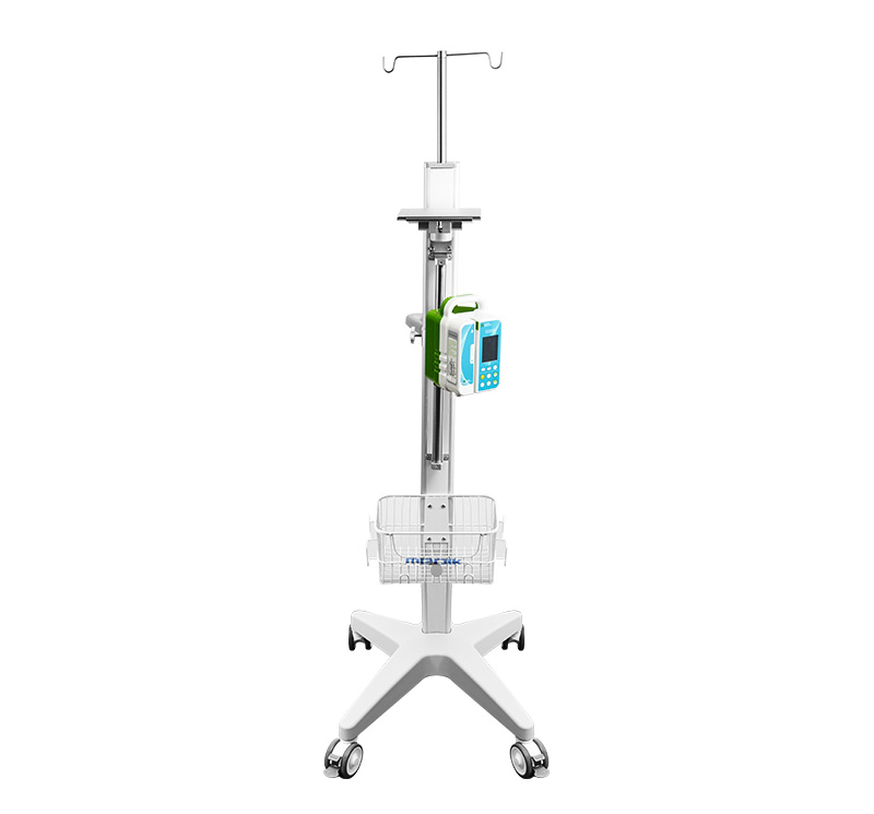 MK-IS06 Infusion Pump Stands With Patient Monitor Tray