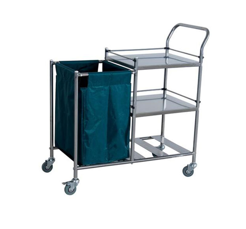 MK-S13A SS Hospital Clean Linen trolley