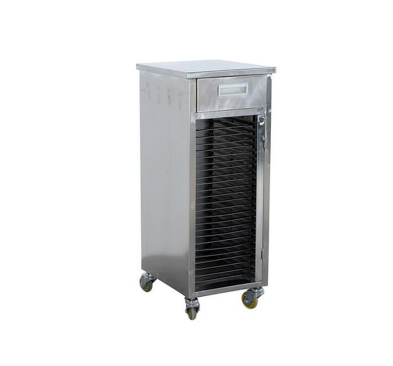 MK-S12 Stainless Steel  Medical record trolley