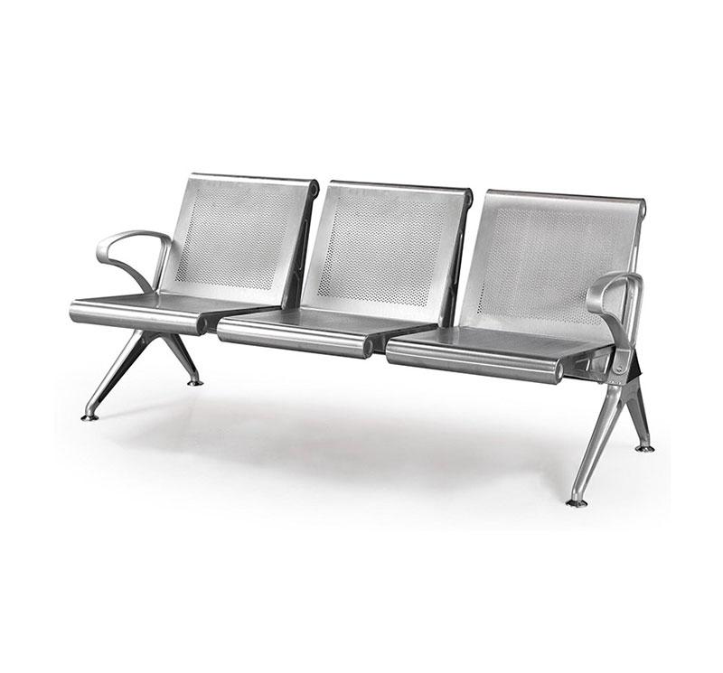 YA-W03 Stainless Steel Waiting Bench