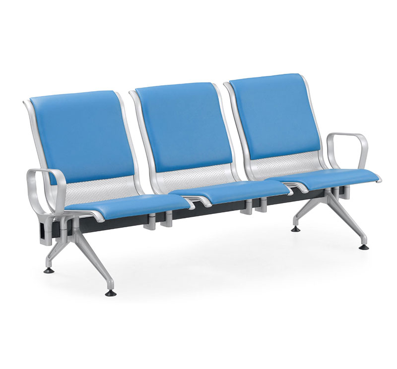YA-W10 Hospital Public Area Steel Waiting Benches chair