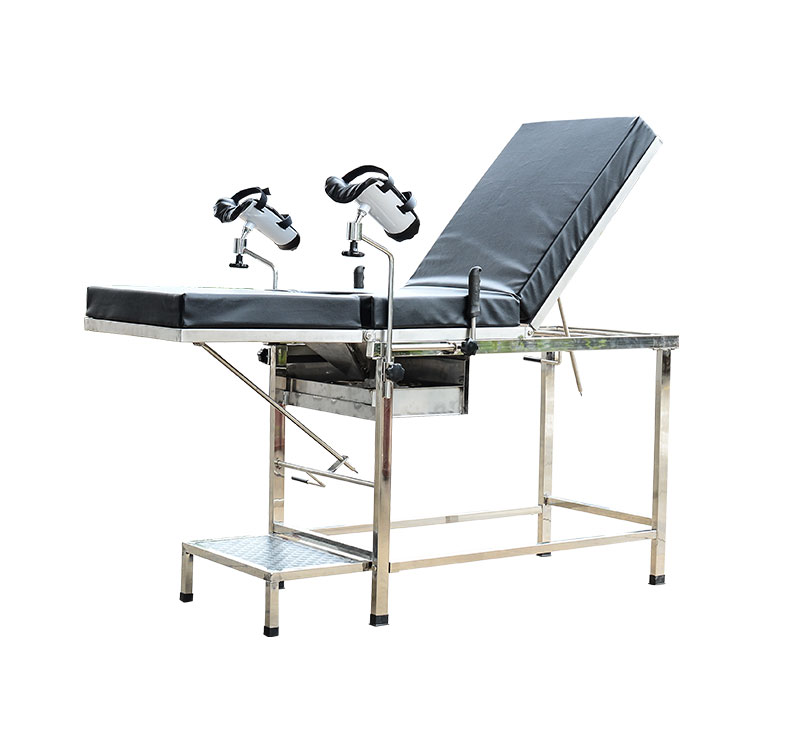 MC-C07 S.S. Gynecologist Chair With Drawer