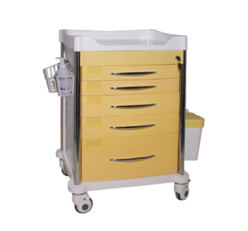 MK-P13 Plastic Medical Drug Cart For Hospital