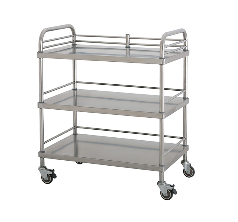 MK-S04 Stainless Steel Apparatus Trolley