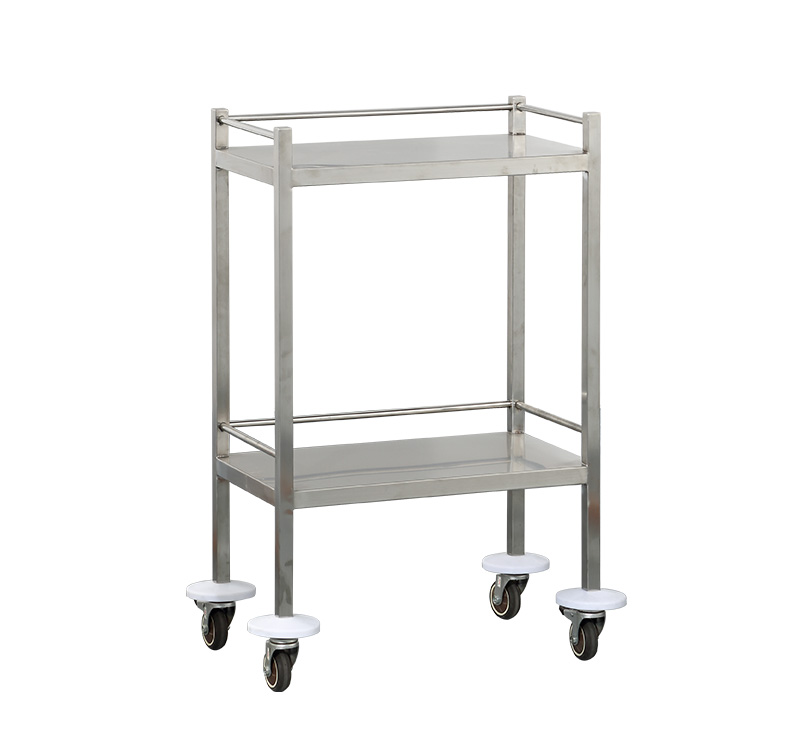 MK-S06 Stainless Steel Instrument Trolley