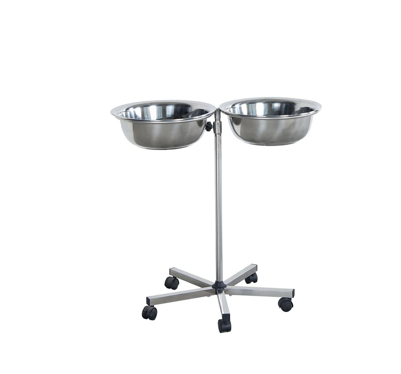 MK-S33 Hand Wash Basin Stand Double Bowl For Hospital
