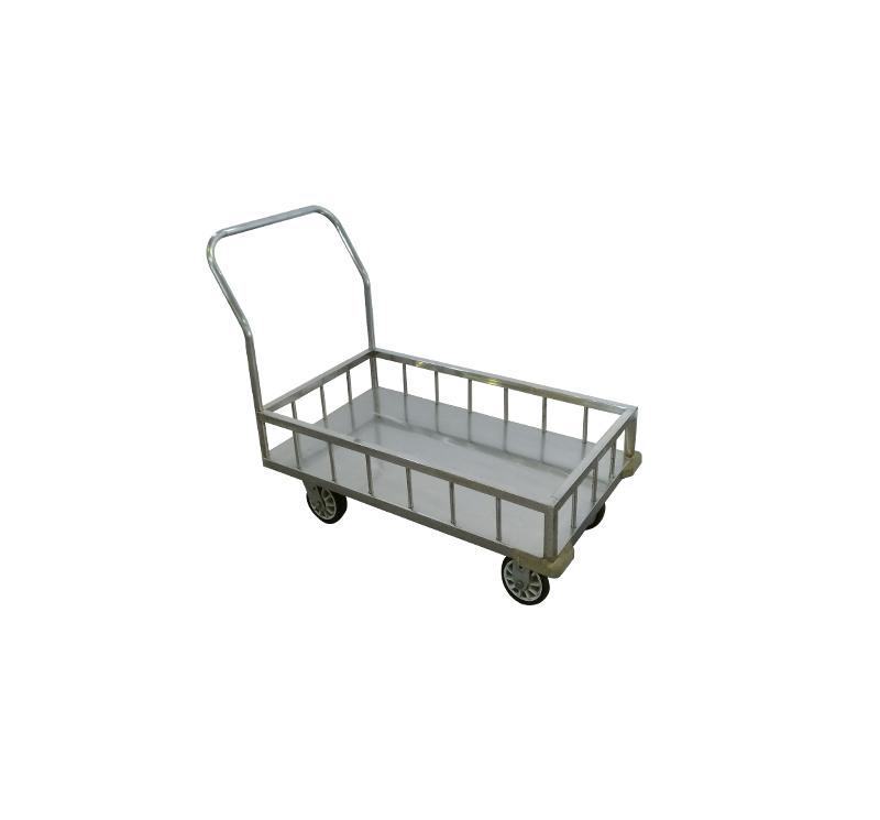 MK-S36 Stainless Steel Platform Cart For Hospital