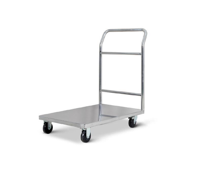 MK-S37 Stainless Steel Platform Trolley For Hospital