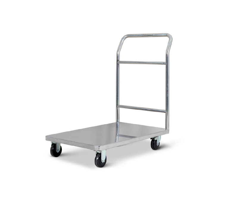 MK-S37 Stainless Steel Platform Trolley For Hospital