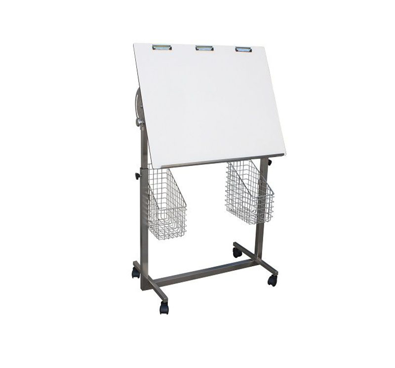 MK-S38 ICU Flow Chart Table With 2 Small Baskets