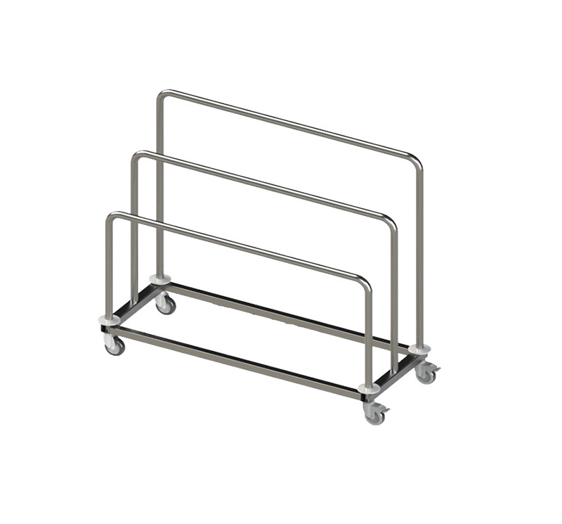 MK-S39 Stainless Steel Paper-Dispenser Trolley For CSSD