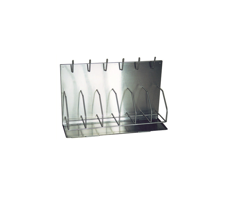 MK-S41 Stainless Steel Bedpan And Bottle Racks