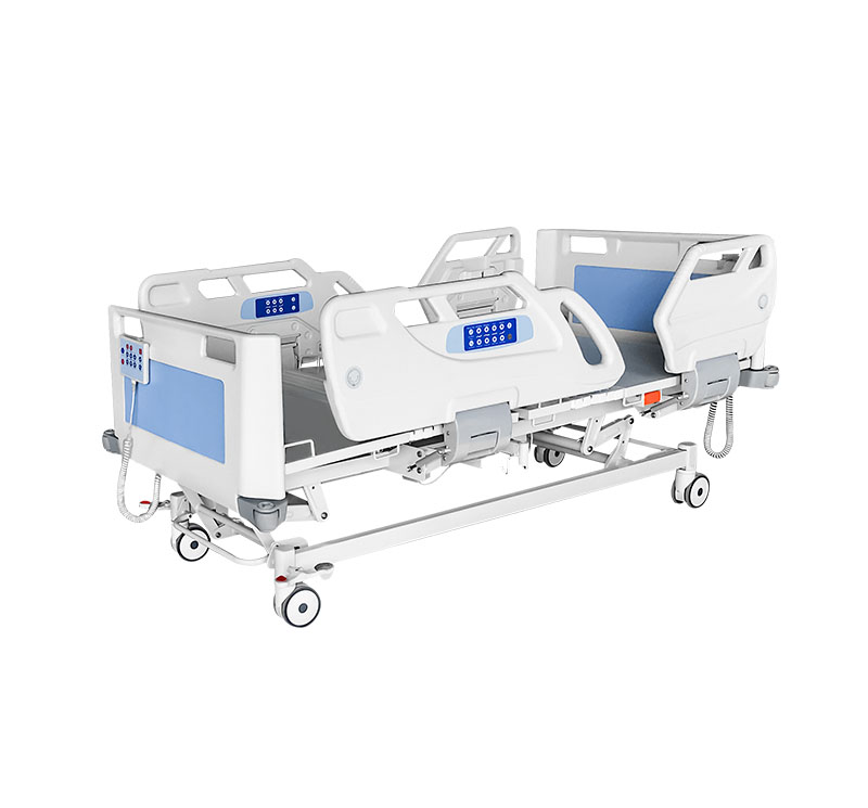 YA-D6-1 Electric ICU Hospital Bed With Embedded Railing Control
