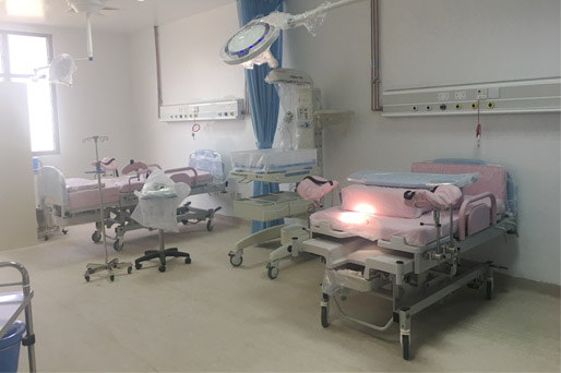 Medik Win A Project of ICU Bed In Saudi Arabia Hospital