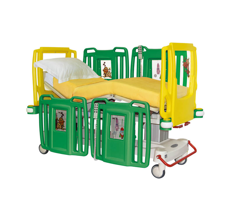 YA-PD5-3 Electric Pediatric ICU Bed