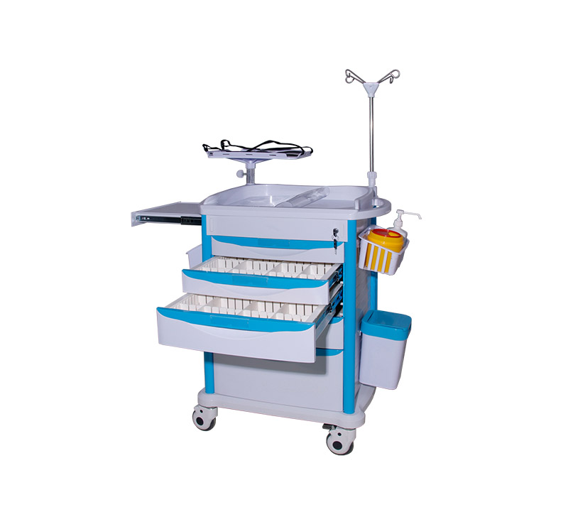 MK-P04 Medical Critical Care Carts