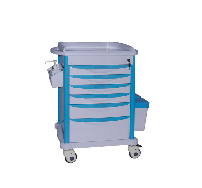 MK-P10 ABS Hospital Medicine Trolley