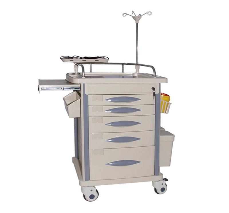 MK-P03 Medical Resuscitation Trolley