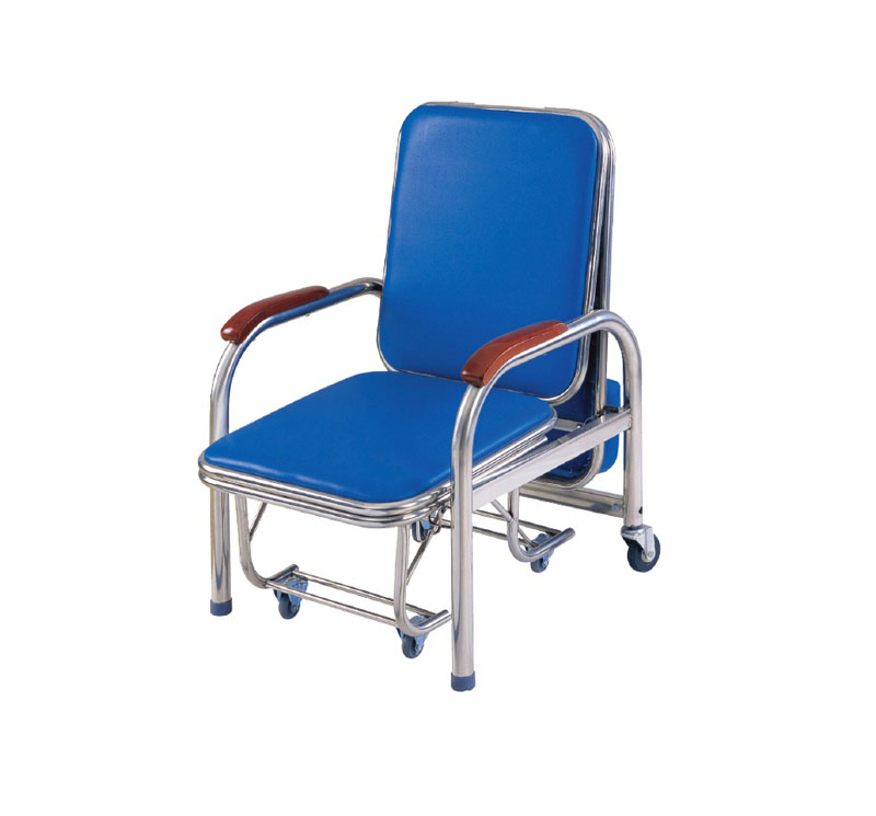 MK-A05 Stainless Steel Attendant Bed Cum Chair