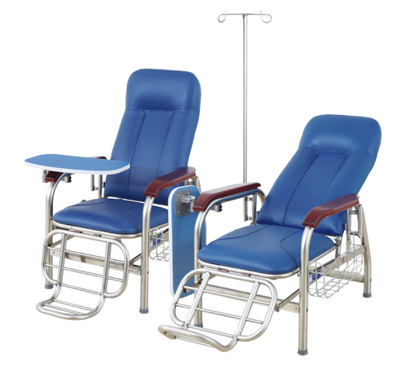 MK-F01 Stainless Steel Transfusion Chair
