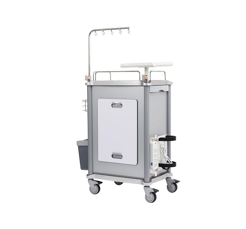 MK-C01 Metal Emergency Cart With Five Drawers