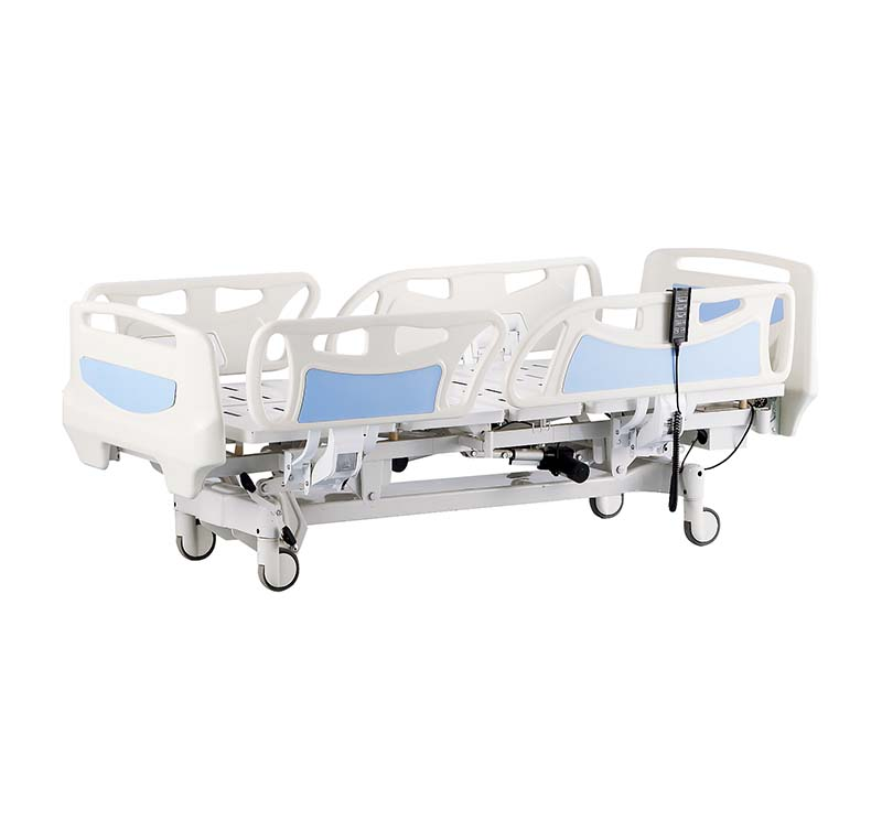 YA-D5-6 Electric Hospital Room Bed With Railing Control