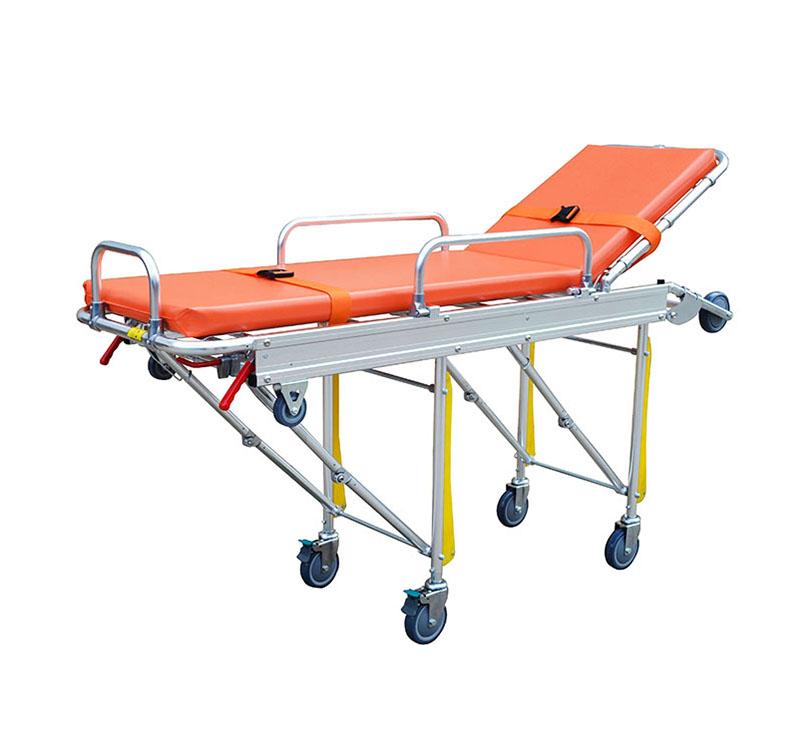 YA-AS02 Automatic Loading Ambulance Stretcher