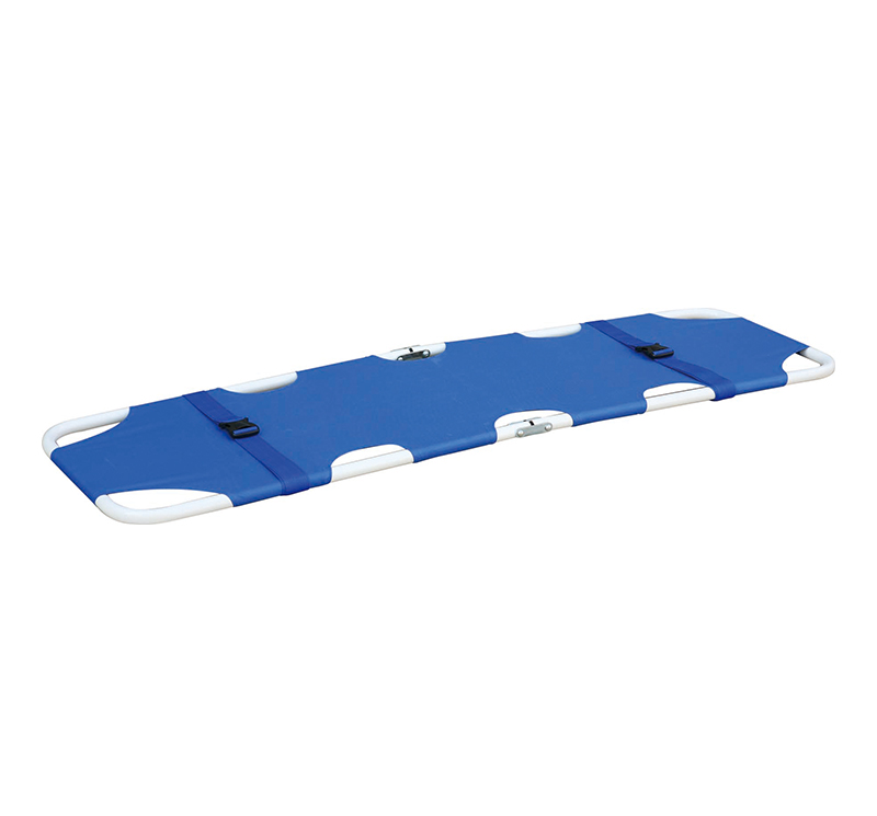 YA-ES02C Epoxy Coated Emergency Folding Stretcher