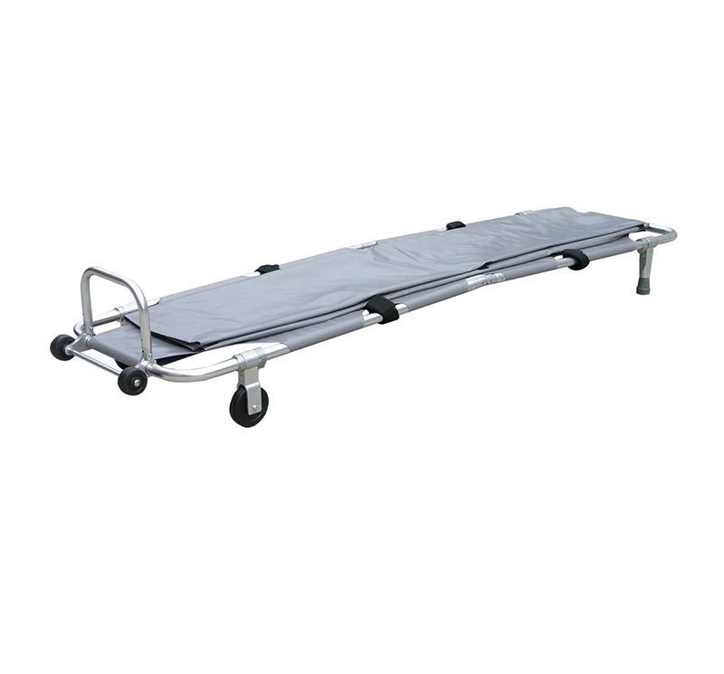 YA-ES06 Folding Mortuary Stretcher Trolley