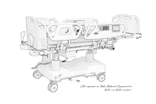 Medik's New Special ICU Bed