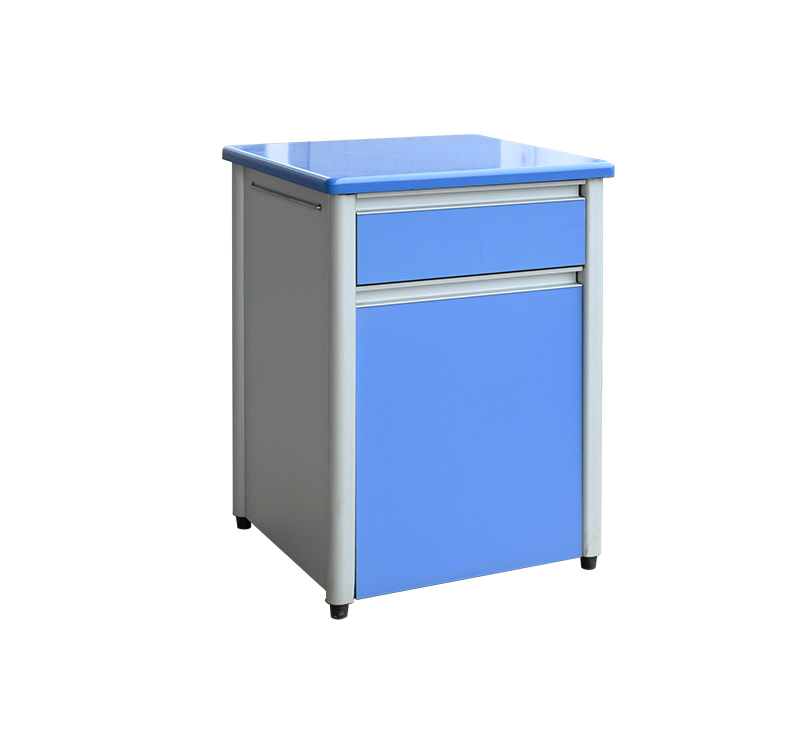 YA-B12 Modern Hospital Bedside Cabinet With Drawers