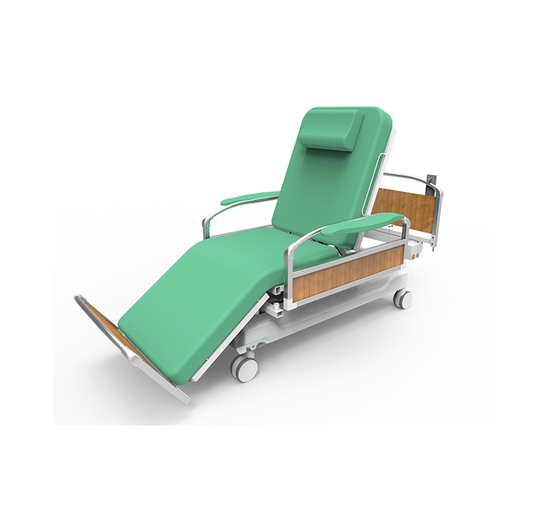 YA-DS-D08 Mobile Dialysis Bed Chair For Patient