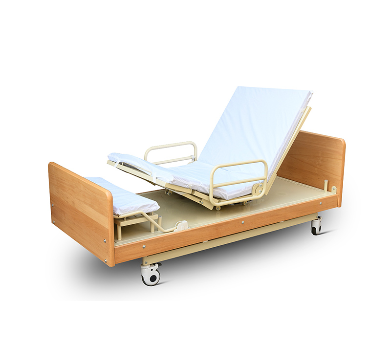 YA-DH6-1 Electric Adjustable Rotating Hospital Bed For Elderly