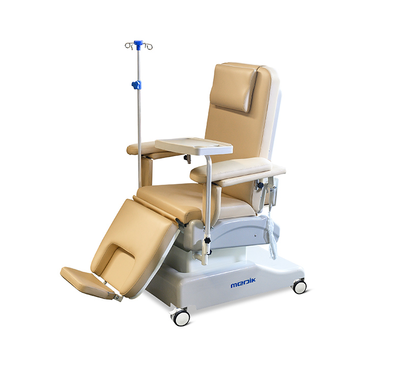 YA-DS-D10 Comfortable Outpatient Dialysis Chair On Wheels