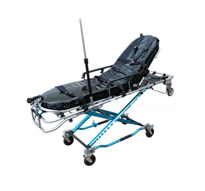 YA-S15 Folding Manual Ambulance Stretcher Trolley