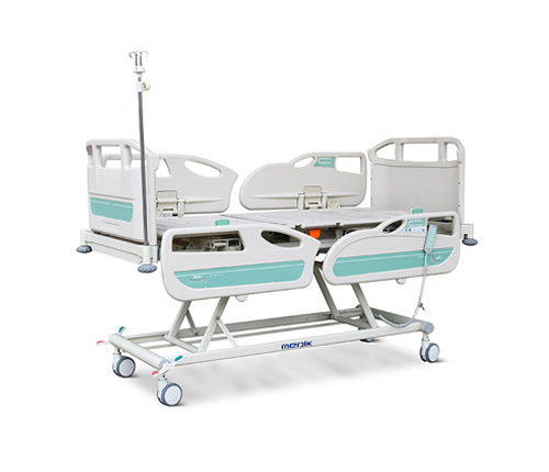 What is a hi-low hospital bed?