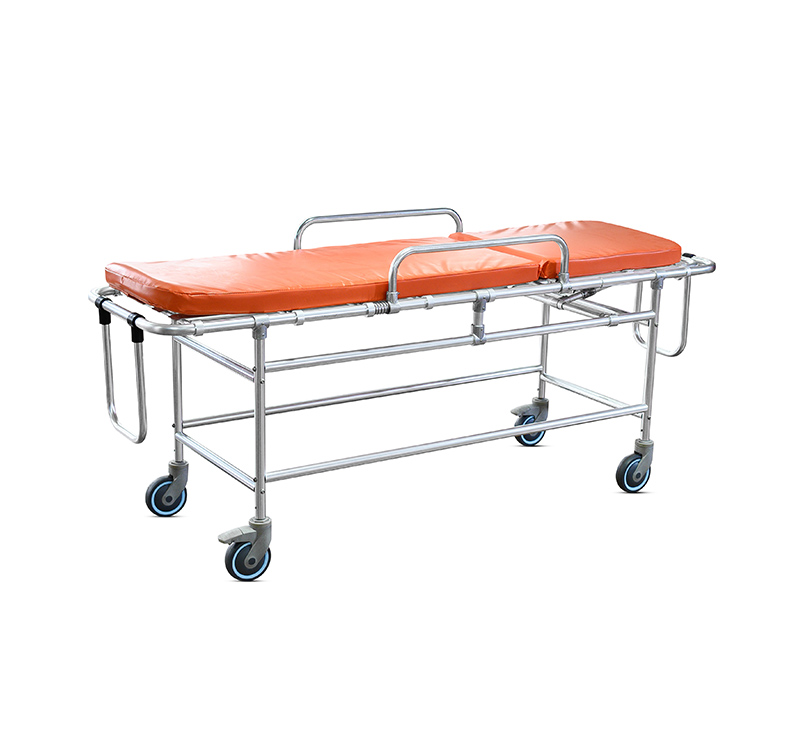 YA-AS06 MRI Non-Magnetic Fixed Gurney with Wheels