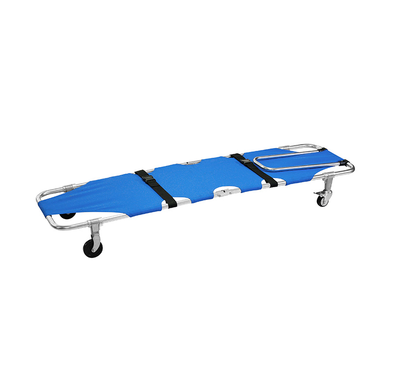 YA-ES01C Foldable Aluminum Alloy Emergency Stretcher