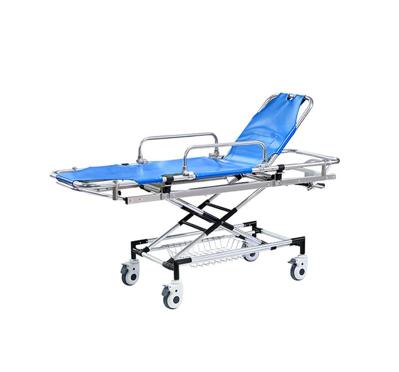 YA-AS07 Collapsible Wheeled Ambulance Stretcher
